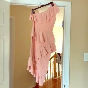 Brand new peplum baby pink dress